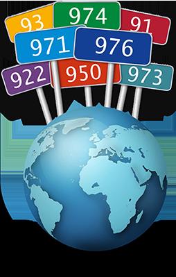 numeracion geografica